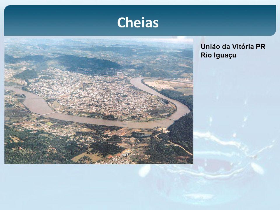 Cheias União da Vitória PR Rio Iguaçu