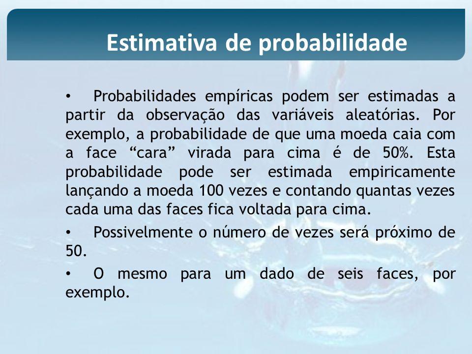 Estimativa de probabilidade
