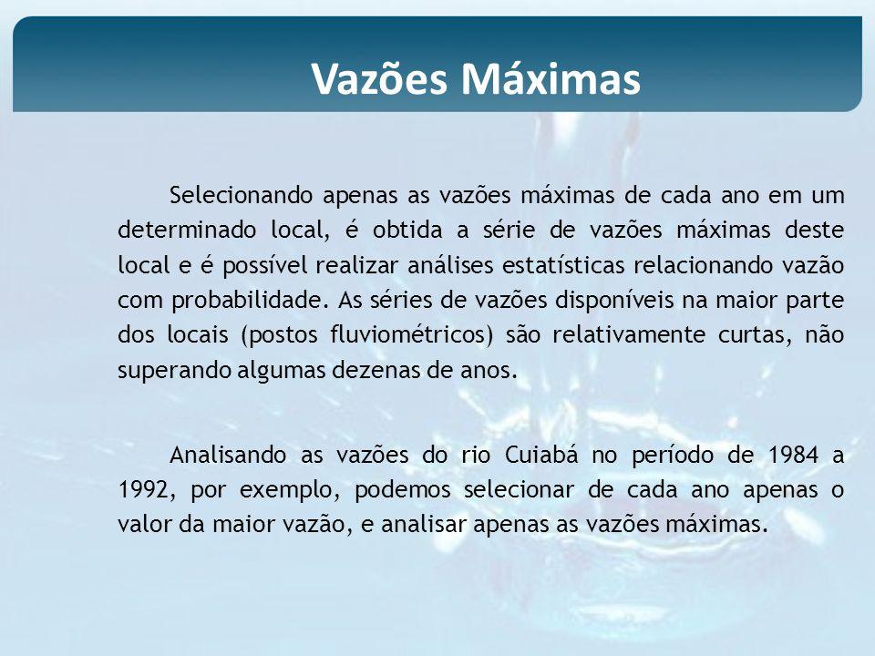 Vazões Máximas