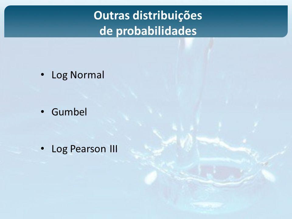 Outras distribuições de probabilidades