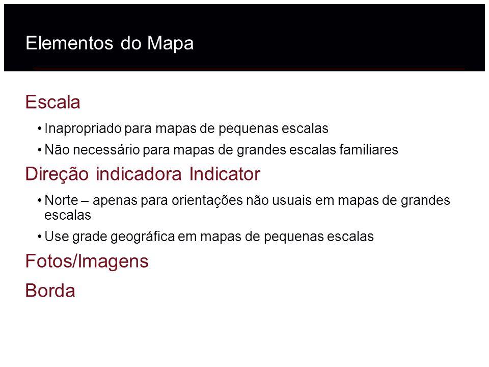 Direção indicadora Indicator