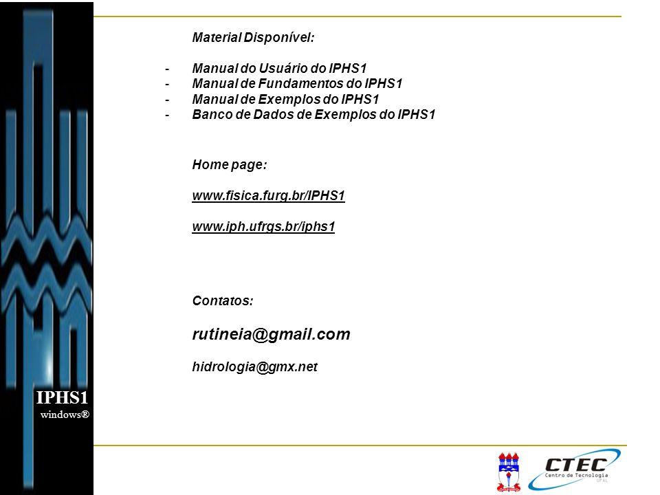 IPHS1 rutineia@gmail.com Material Disponível: