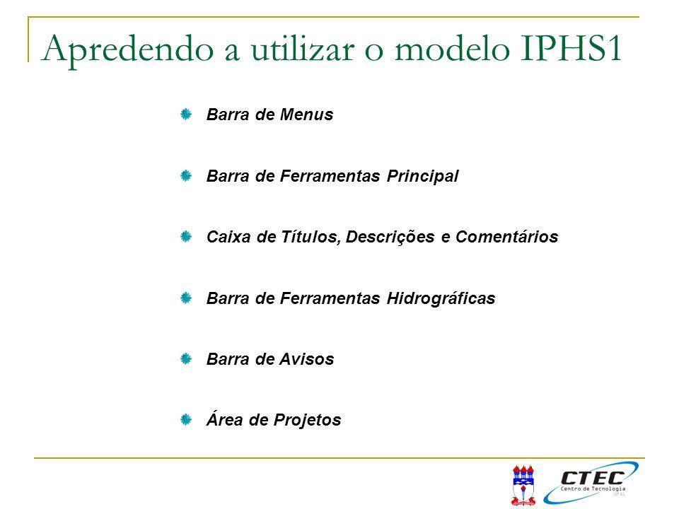 Apredendo a utilizar o modelo IPHS1