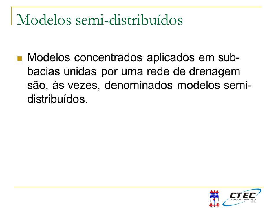 Modelos semi-distribuídos