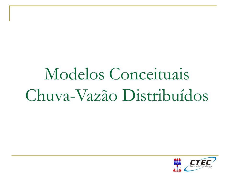 Modelos Conceituais Chuva-Vazão Distribuídos
