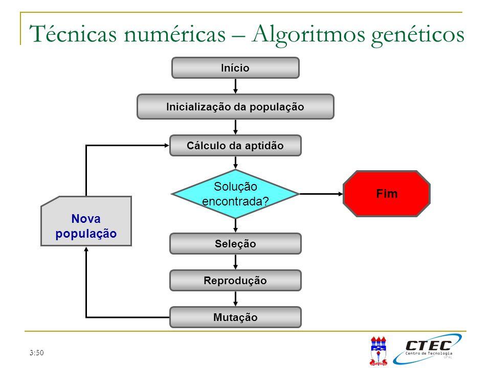 Técnicas numéricas – Algoritmos genéticos