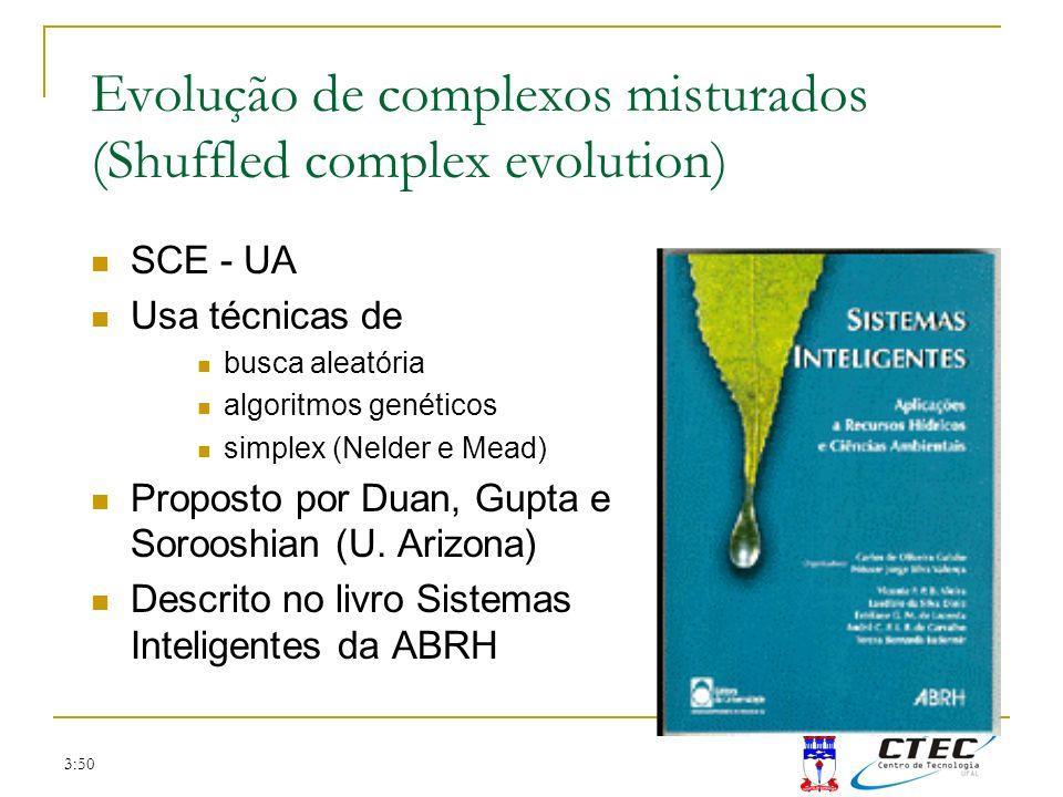 Evolução de complexos misturados (Shuffled complex evolution)