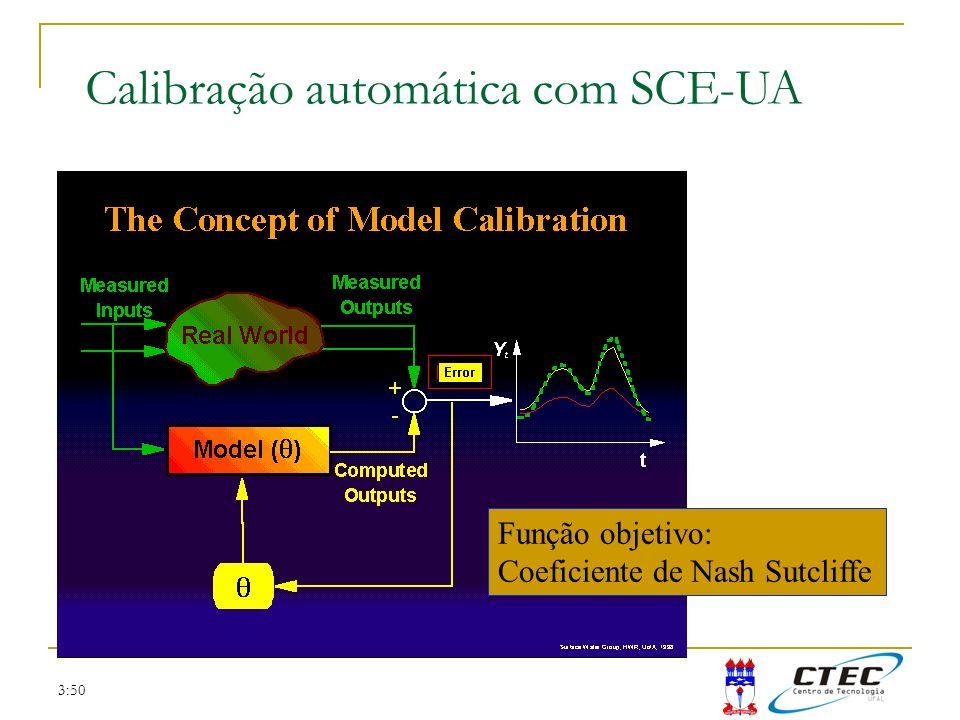 Calibração automática com SCE-UA