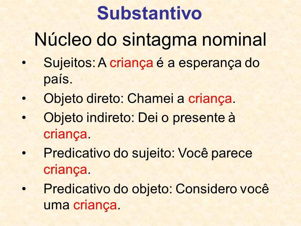 Núcleo do sintagma nominal