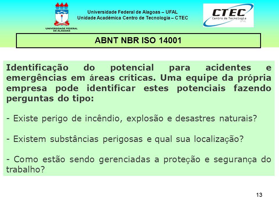 Unidade Acadêmica Centro de Tecnologia – CTEC