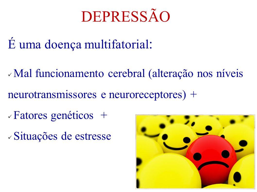 DEPRESSÃO É uma doença multifatorial:
