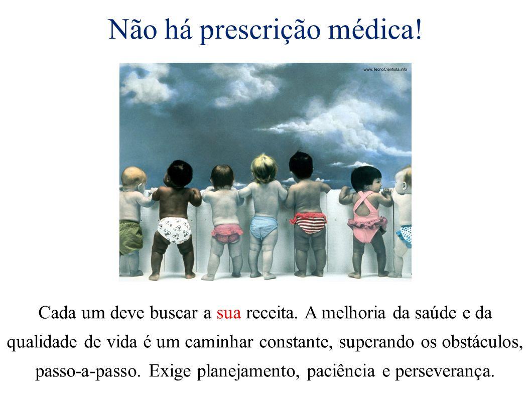 Não há prescrição médica!