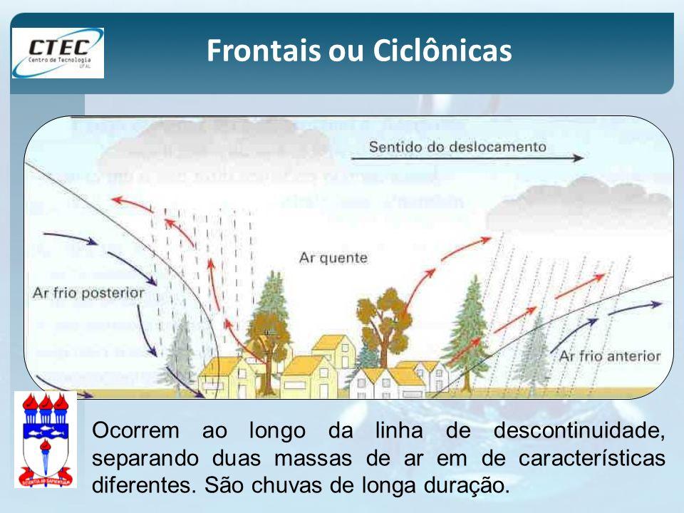 Frontais ou Ciclônicas