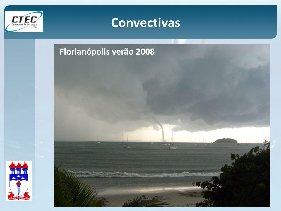 Convectivas Florianópolis verão 2008