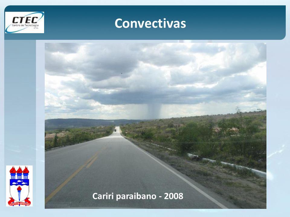 Convectivas Cariri paraibano - 2008