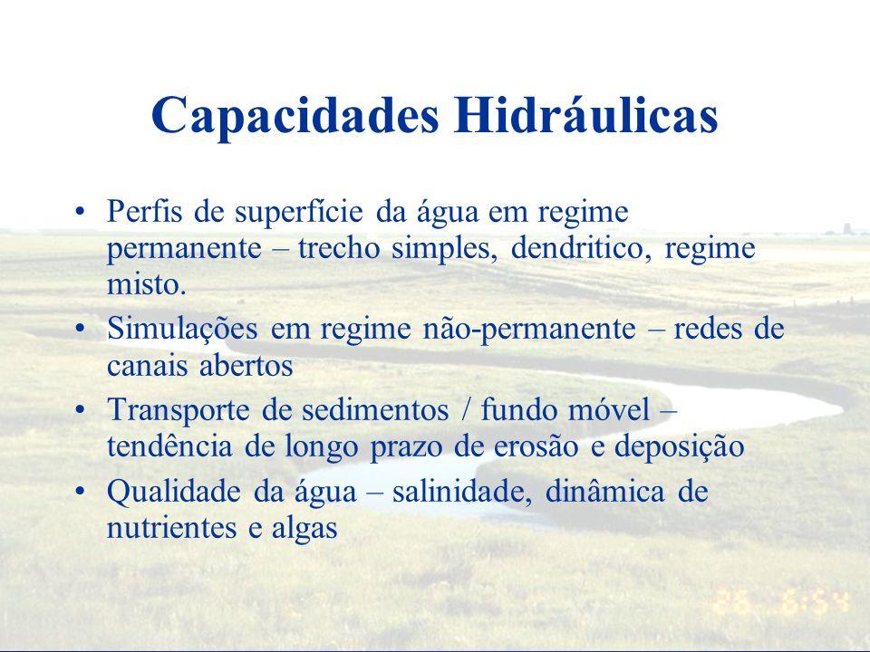 Capacidades Hidráulicas