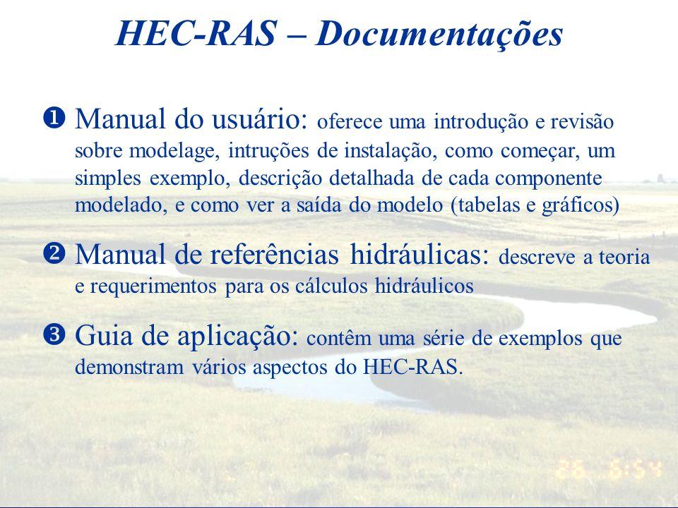 HEC-RAS – Documentações