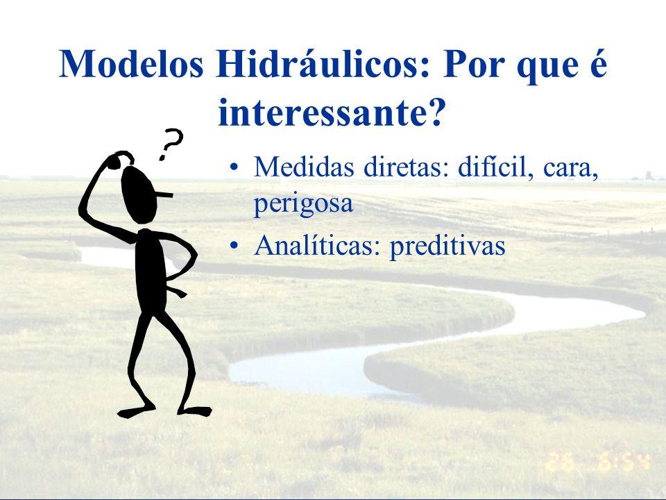 Modelos Hidráulicos: Por que é interessante