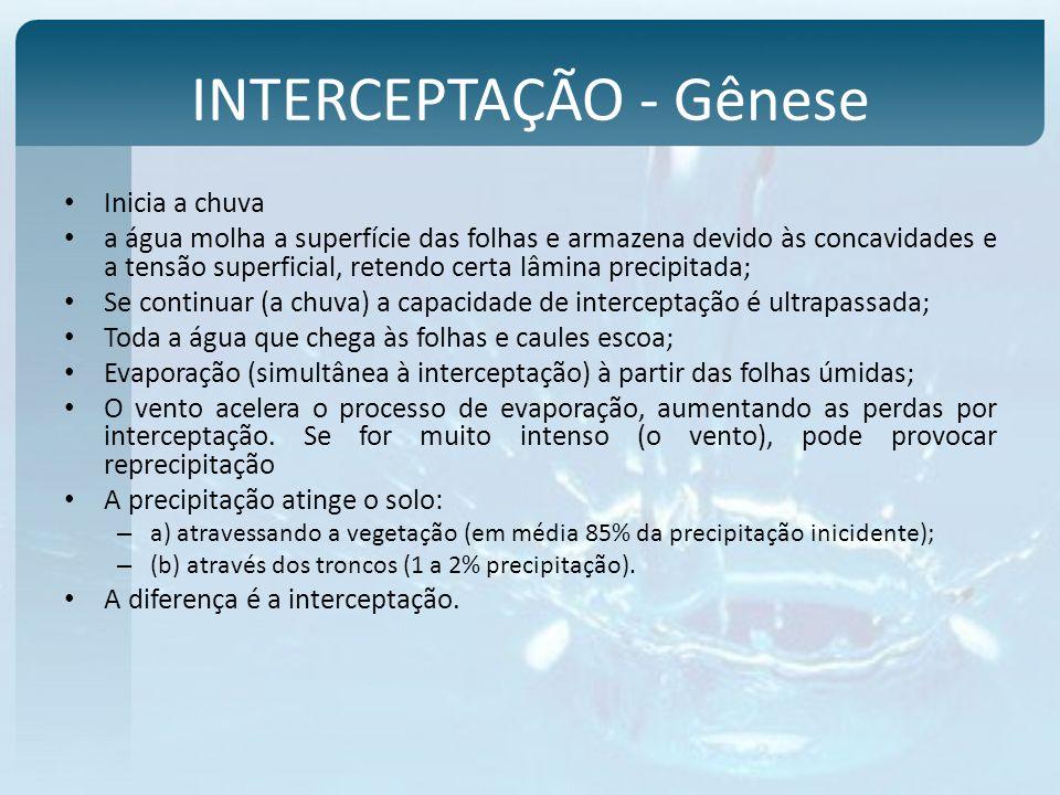 INTERCEPTAÇÃO - Gênese