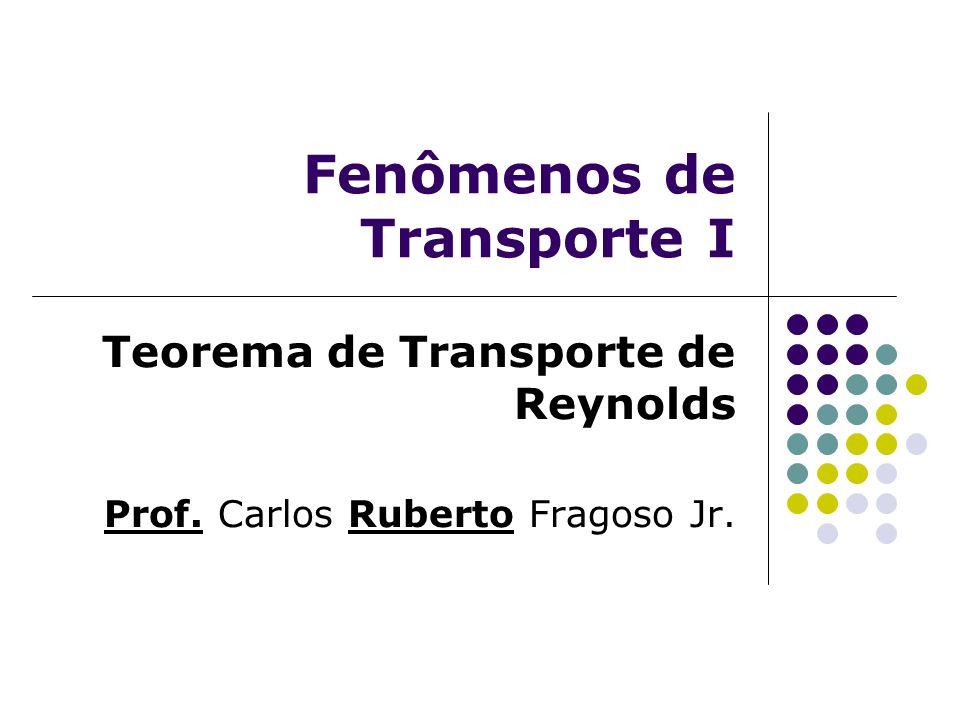 Fenômenos de Transporte I