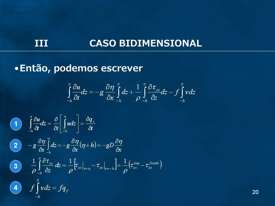 III CASO BIDIMENSIONAL