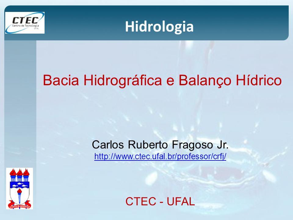 Hidrologia Bacia Hidrográfica e Balanço Hídrico
