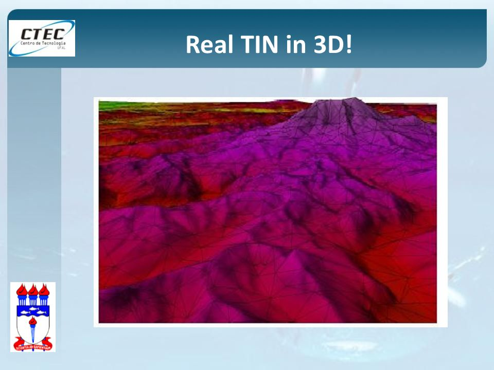 Real TIN in 3D!