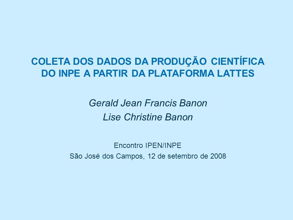 Gerald Jean Francis Banon Lise Christine Banon