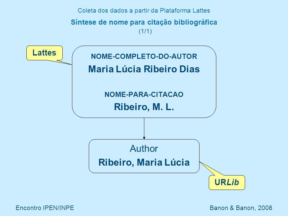 Síntese de nome para citação bibliográfica (1/1)