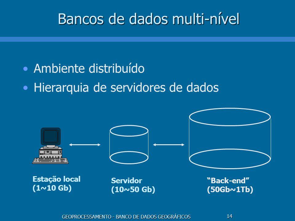 Bancos de dados multi-nível