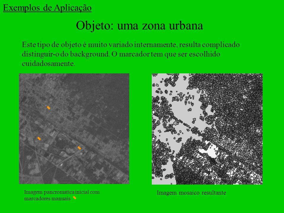 Objeto: uma zona urbana