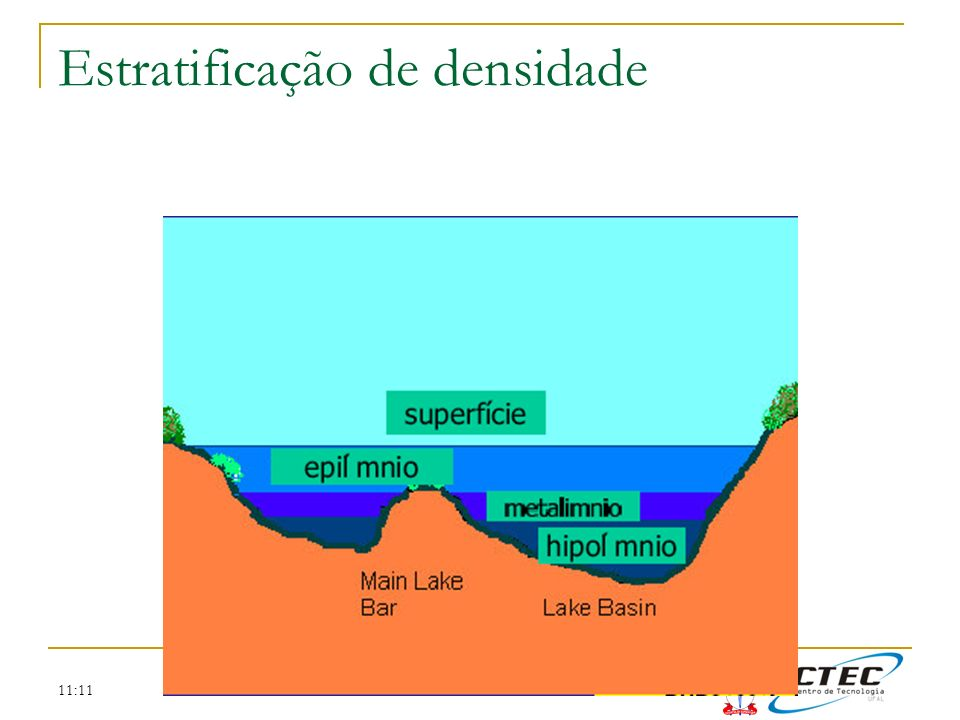 Estratificação de densidade