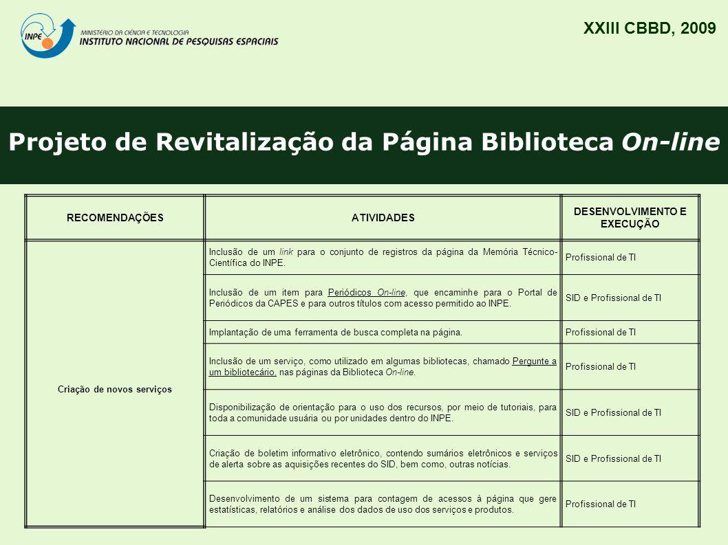 Projeto de Revitalização da Página Biblioteca On-line