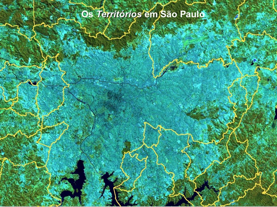 Os Territórios em São Paulo