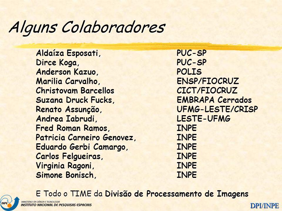 Alguns Colaboradores Aldaíza Esposati, PUC-SP Dirce Koga, PUC-SP