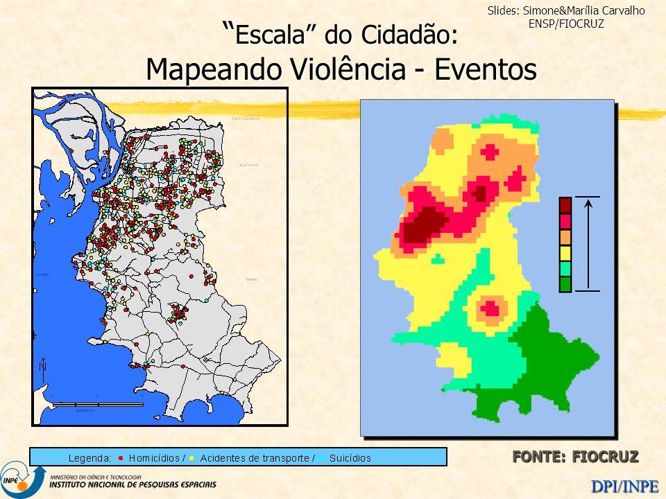 Escala do Cidadão: Mapeando Violência - Eventos