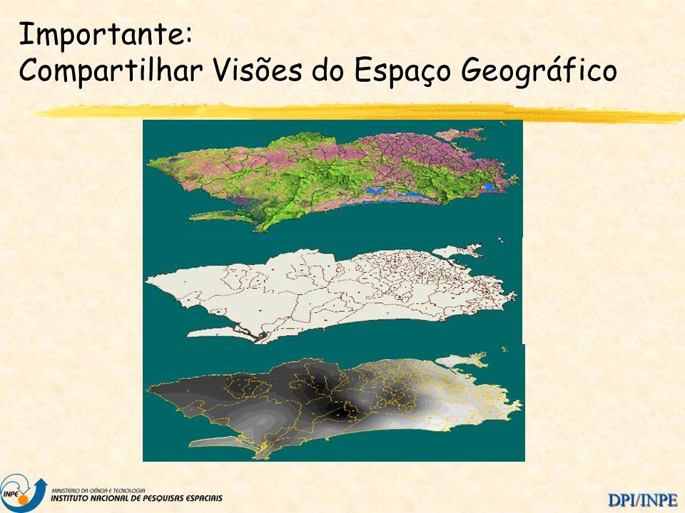 Importante: Compartilhar Visões do Espaço Geográfico