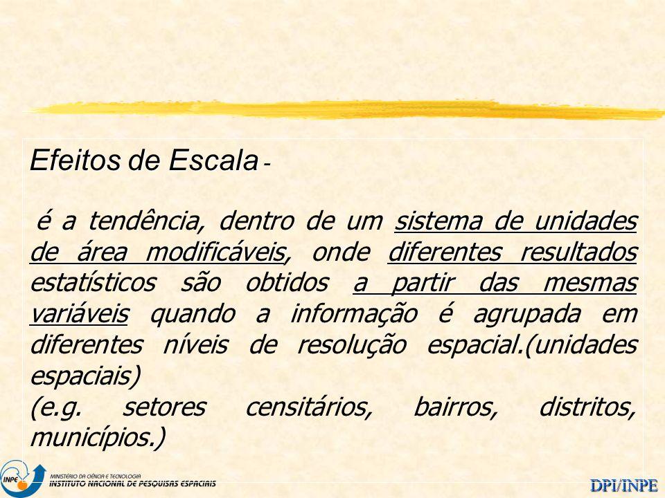 Efeitos de Escala -