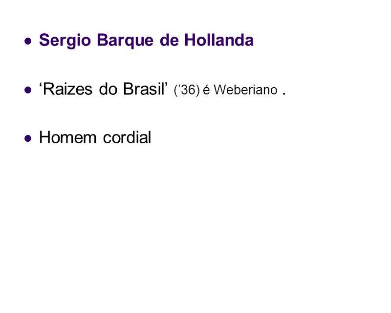 Sergio Barque de Hollanda