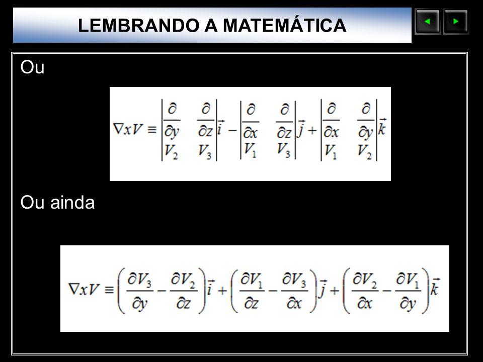 LEMBRANDO A MATEMÁTICA