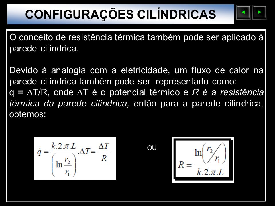 CONFIGURAÇÕES CILÍNDRICAS