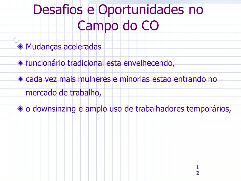 Desafios e Oportunidades no Campo do CO