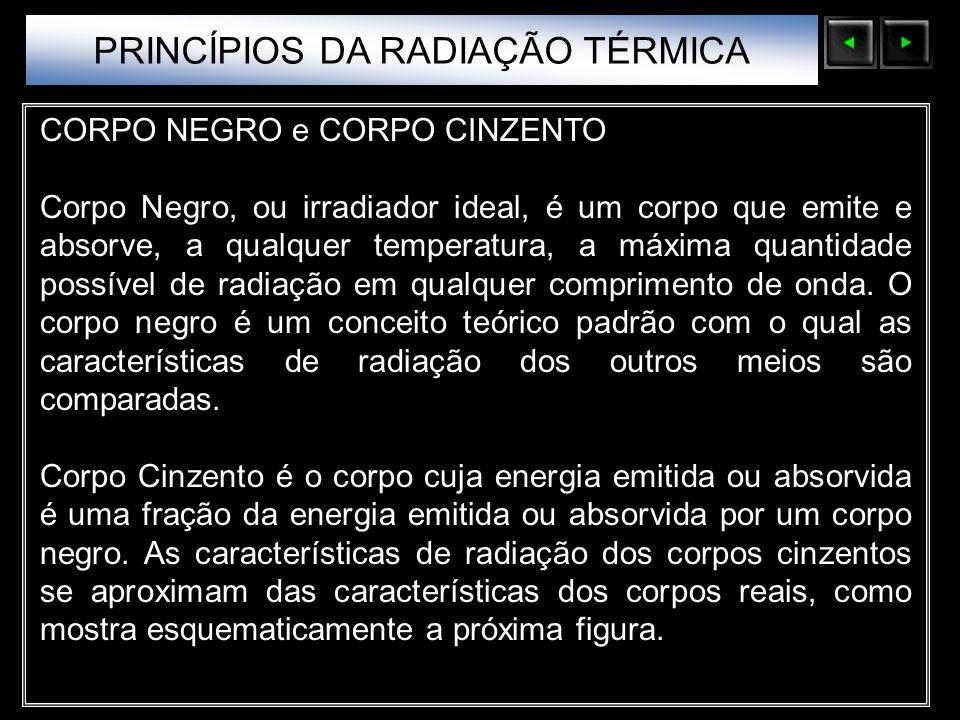 PRINCÍPIOS DA RADIAÇÃO TÉRMICA