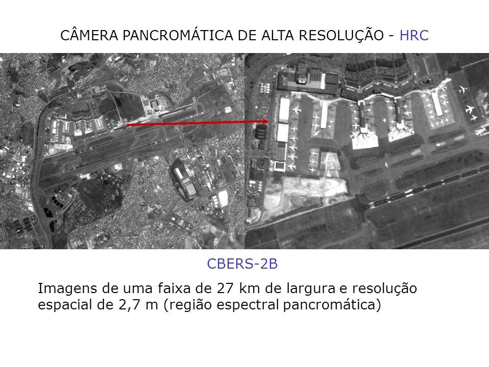 CÂMERA PANCROMÁTICA DE ALTA RESOLUÇÃO - HRC