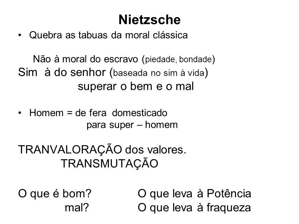 Nietzsche Sim à do senhor (baseada no sim à vida)