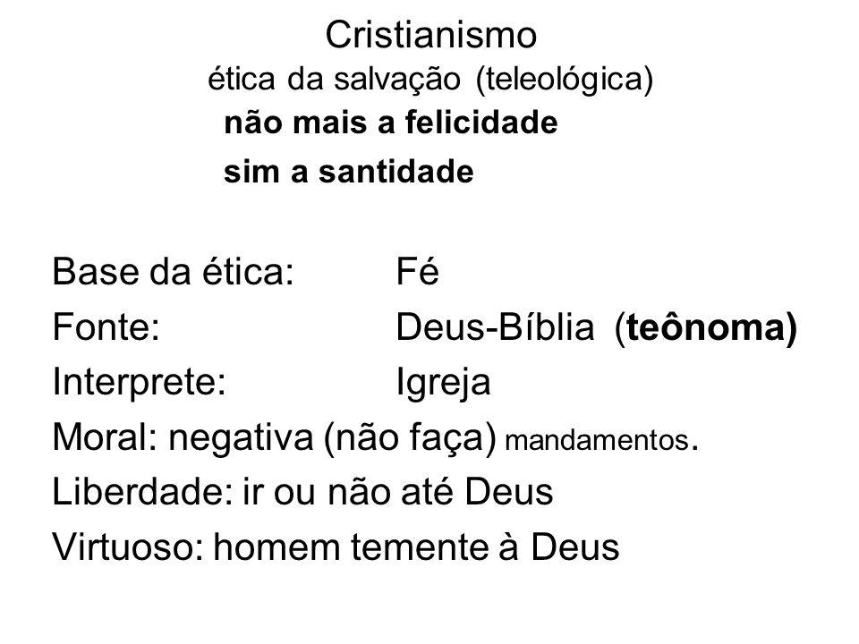 Cristianismo ética da salvação (teleológica)