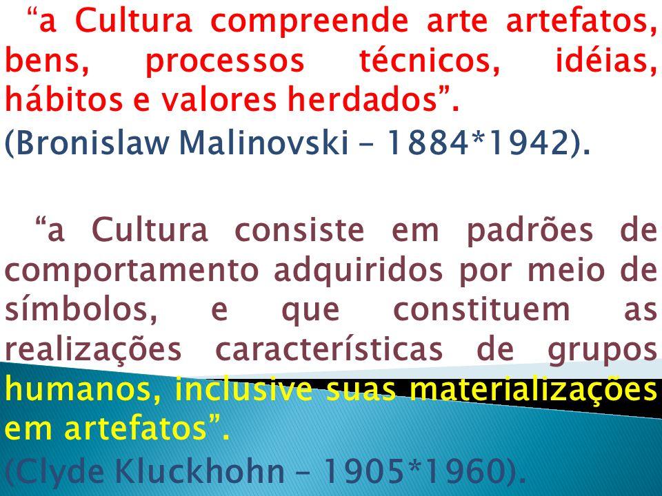 (Bronislaw Malinovski – 1884*1942).