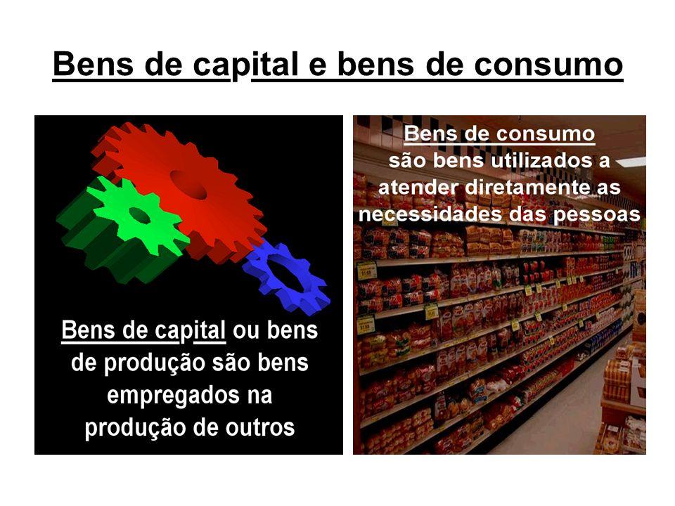 Bens de capital e bens de consumo