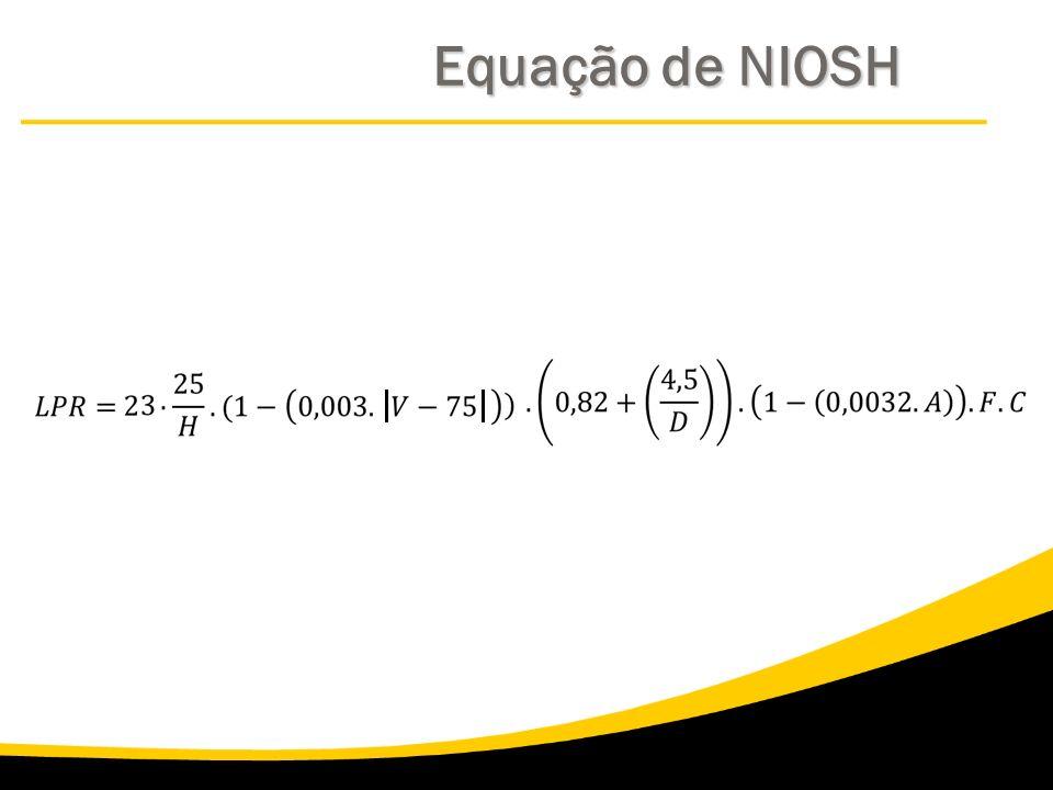 Equação de NIOSH