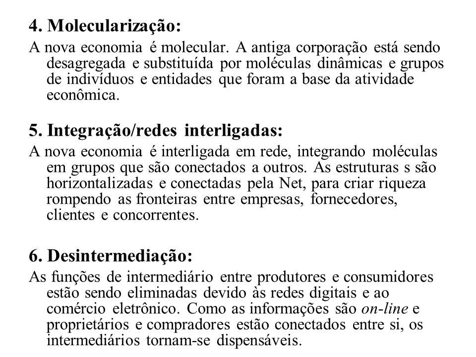 5. Integração/redes interligadas: